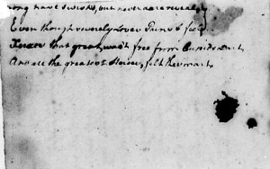 George Washington's Love Poem about Frances Alexander, Page 2