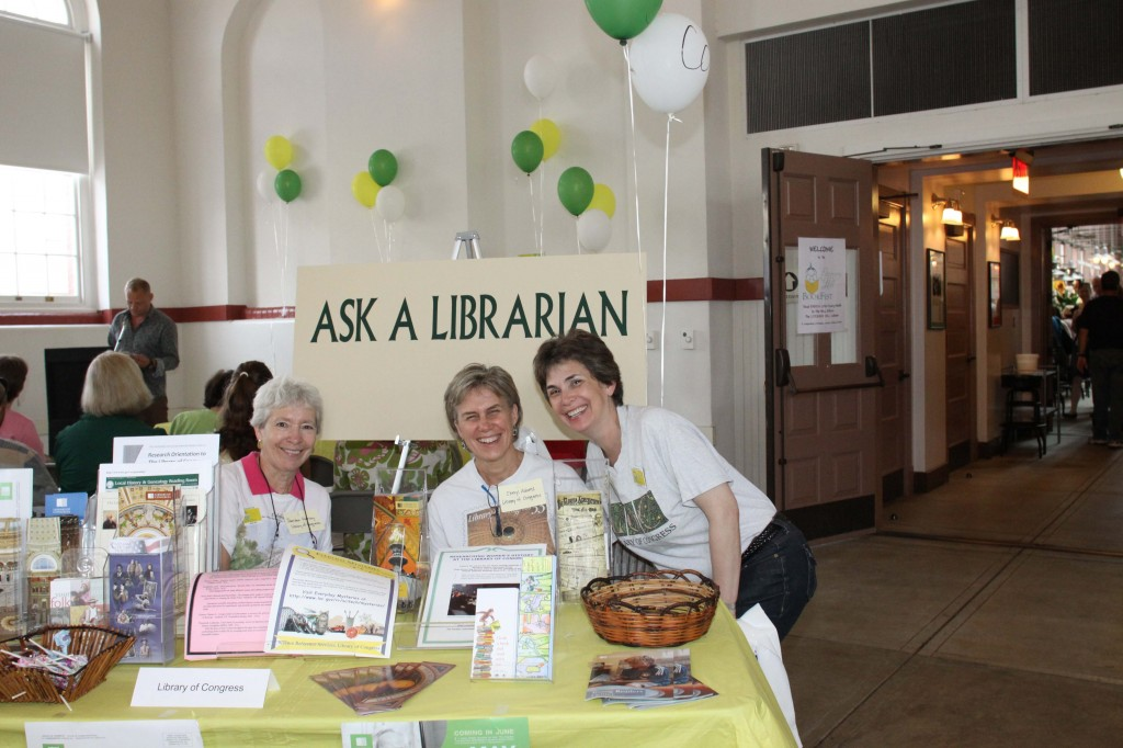 Library of Congress Table, Literary Hill BookFest, 2011