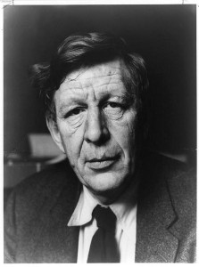 Wystan Hugh Auden, head-and-shoulders portrait, facing right
