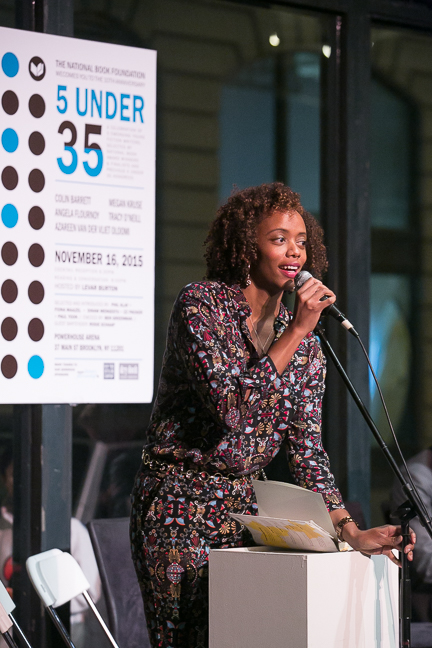 2015 5 Under 35 Honoree Angela Flournoy.