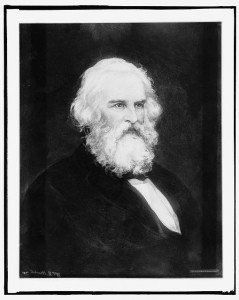Henry W. Longfellow, head and shoulders portrait [between 1900 and 1912]. Prints and Photographs Division.