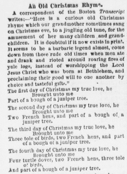 The evening telegraph. (Philadelphia [Pa.]), 07 Jan. 1869. Chronicling America: Historic American Newspapers. Lib. of Congress.
