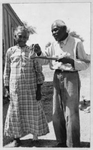 Bill and Ellen Thomas, Ages 88 and 81, between 1936 and 1938. WPA Slave Narrative Project, Federal Writer's Project. Manuscript Division.