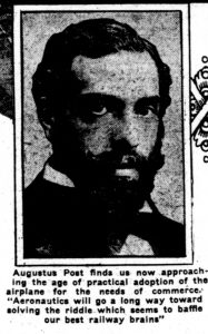 Augustus Post. From The Washington Herald., June 13, 1920. Page 3.