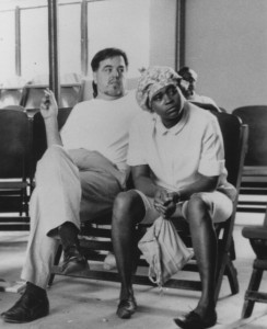 Alan Lomax and Mable Hillary at the Sing for Freedom Festival and Workshop, 1965. Alan Lomax Collection (AFC 2004/004)