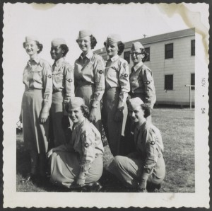 Air Force members, Agnes Helen Gomez Patterson Collection