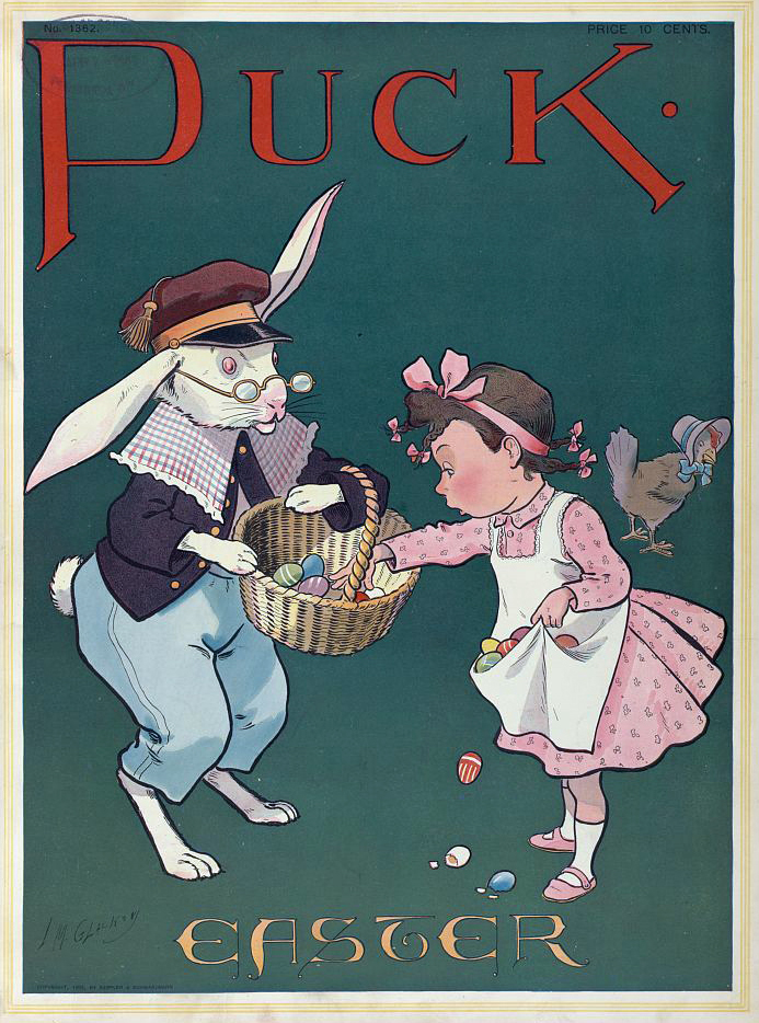 On The Bunny Trail In Search Of The Easter Bunny Folklife Today