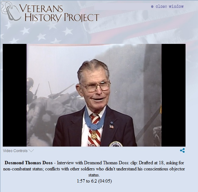 library of congress veterans history project