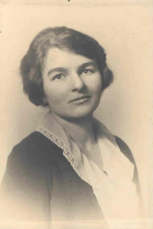 Head and Shoulders portrait of Ms. Sidney Robertson Cowell