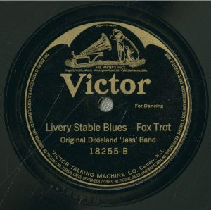 Livery Stable Blues Label, Victor.