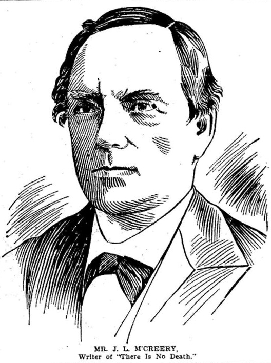 Head and shoulders portrait engraving of J.L. McCreery