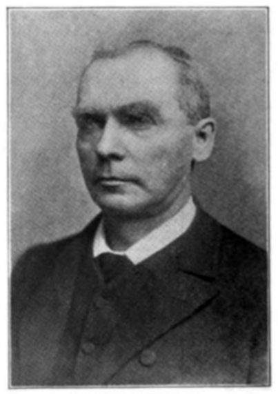 Head and shoulders portrait photograph of J.L. McCreery