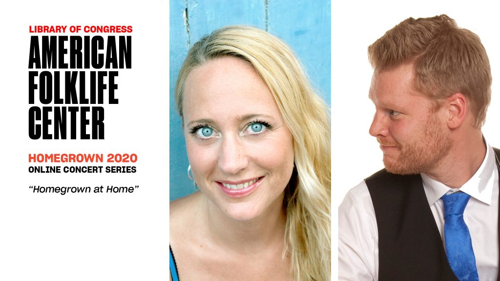 Headshot portraits: Emma Björling looks directly at the camera, Petrus Johansson looks left.