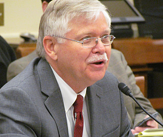 Dr. Steven Dick, Baruch S. Blumberg NASA/Library of Congress Chair in Astrobiology. Photo courtesy House Committee on Science, Space, and Technology.