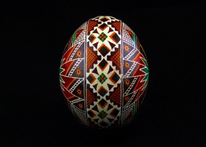 Pysanky. Photograph by George Pankewytch-  GWP Photography. Used under conditions set by Creative Commons license-https://creativecommons.org/licenses/by-nc-nd/2.0/.