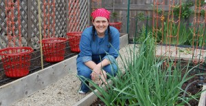 LaManda Joy, author of Start a Community Food Garden: The Essential Handbook (Timber Press, 2015). Photo courtesy of Timber Press