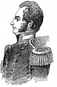 Portrait of Commander Robert McClure. From The Illustrated London News, Nov. 5, 1853
