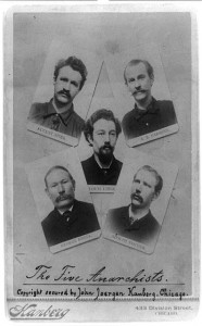[The five anarchists August Spies, A.R. Parsons, Louis Lingg, George Engel, and Adolph Fischer] //www.loc.gov/resource/cph.3b39324/