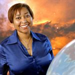 Beth Brown. Photo courtesy of NASA. Beth Brown From: https://www.nasa.gov/audience/foreducators/postsecondary/features/sharing-the-stars.html