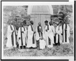 Protestant Episcopal Bishop and Clergy