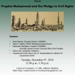 20161206-Prophet Muhammad and the Pledge to Civil Rights