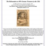 Reformation at 500 Lecture Flyer