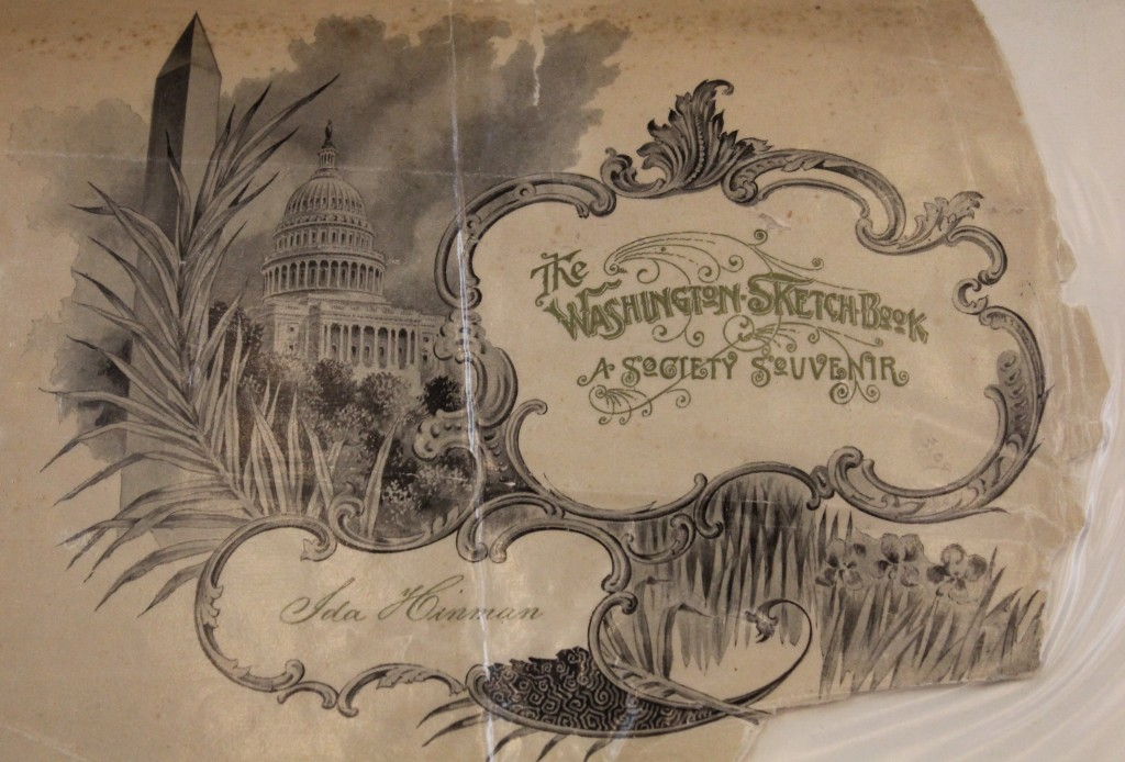 """The Washington Sketch-Book: A Society Souvenir"" by Ida Hinman"