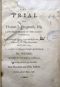 The trial of Thomas J. Fitzgerald, Esq.