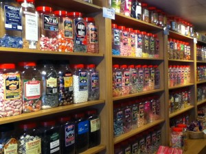 Sweets (candy) in a Sweet shop in England