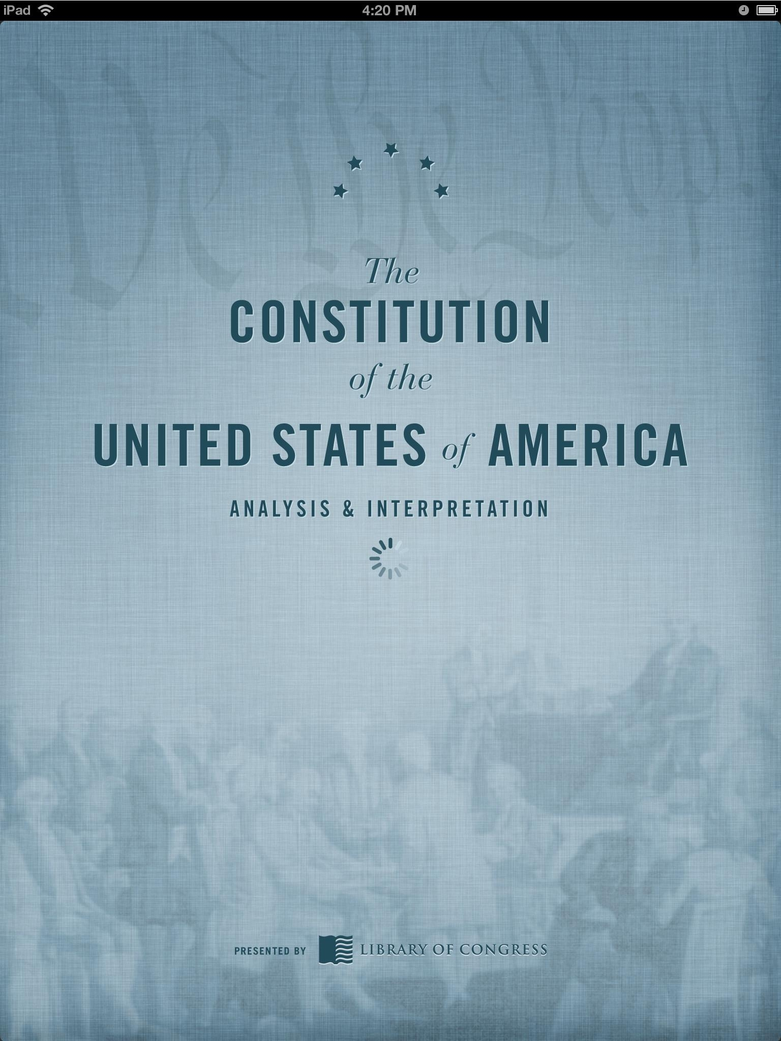 an analysis of the american constitution and the basis of all law in the united states The constitution has a central place in american law and  had set a basis for the united states constitution as  analysis and interpretation of.