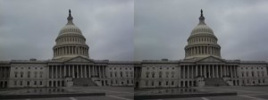 Capitol Building Stereoview [Photo by Robert Brammer.]