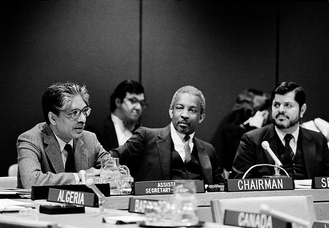 Ad Hoc Committee on Drafting International Convention Against Apartheid in Sports Holds First 1983 Meeting. (Source: United Nations Photo Flickr stream.)