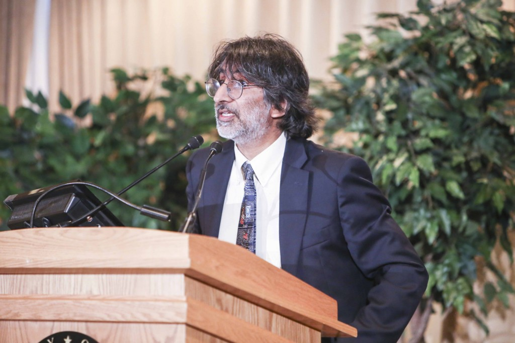 Professor Akhil Reed Amar gives the 2014 Constitution Day Lecture. Photo Source: Amanda Reynolds.