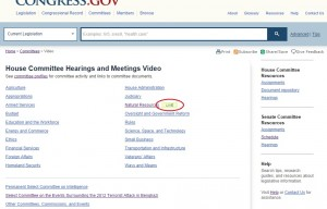 House Committee Hearings and Meetings Video