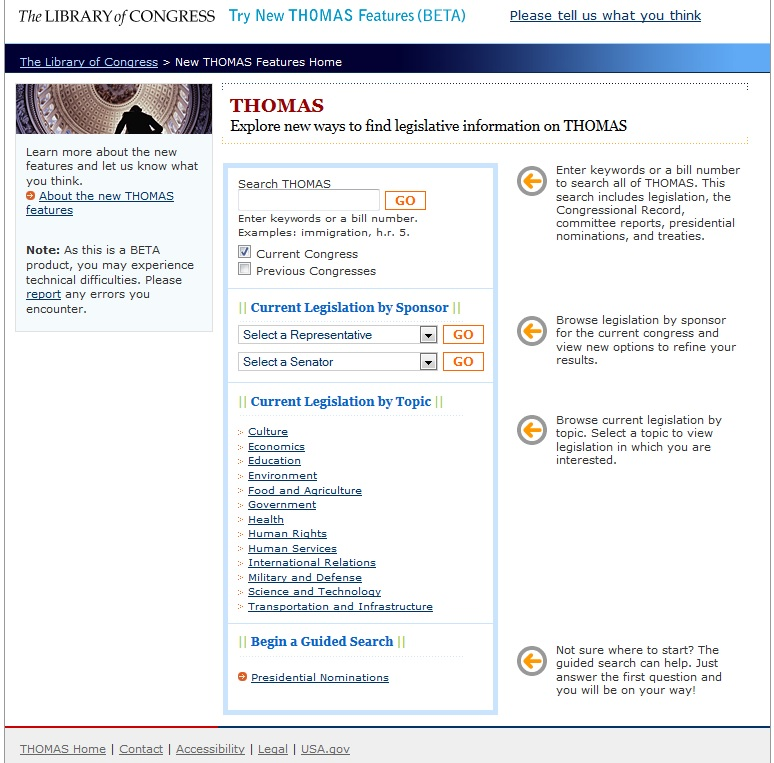 Beta Version of THOMAS, Available Dec. 2006-Dec. 2008 from the Homepage