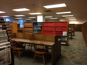 Virginia State Law Library Reading Room