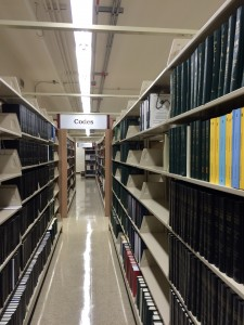Virginia State Law Library Stacks