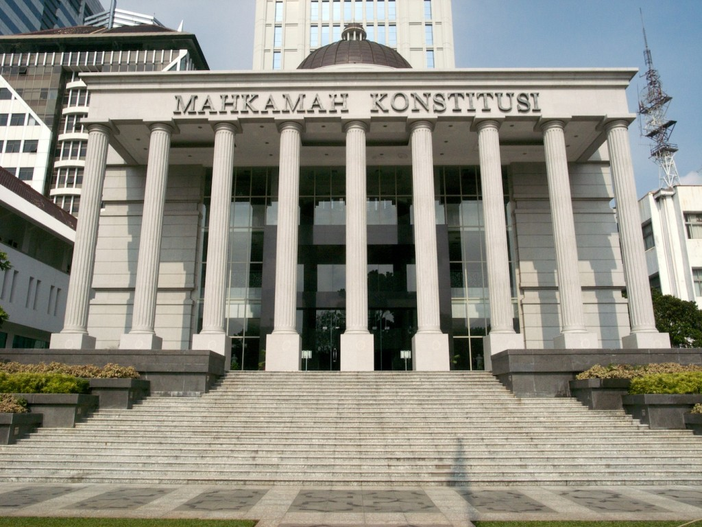 Constitutional Court, Jakarta, Indonesia (Photo by Flickr user Charles Wiriawan, Feb. 2009). Used under Creative Commons license, https://creativecommons.org/licenses/by-nc-nd/2.0/.