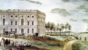 On November 17, 1800, Congress moved to Washington from Philadelphia, convening in the newly completed north wing of the unfinished Capitol. Architect of the Capitol, http://www.capitol.gov/#TIME_2010061487014|EVT_2010061506884