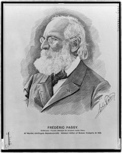 [Frédéric Passy, head-and-shoulders portrait, facing left]. Library of Congress Prints and Photographs Division, //www.loc.gov/item/98505312/.