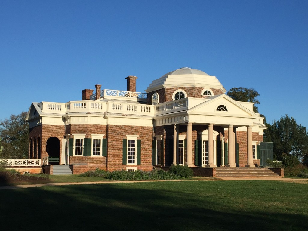 Monticello. Photo by Fernando O. Gonzalez.