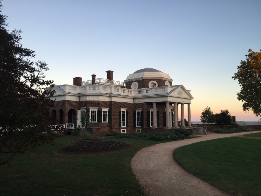 Side view of Monticello. Photo by Fernando O. Gonzalez.