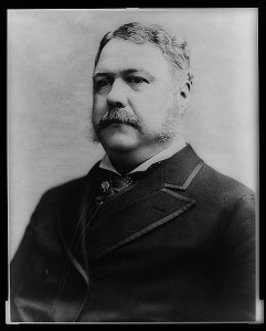 Chester A. Arthur, President of the United States, Photograph by Charles Milton Bell. (1882). Library of Congress Prints and Photographs Division, //hdl.loc.gov/loc.pnp/cph.3a07409