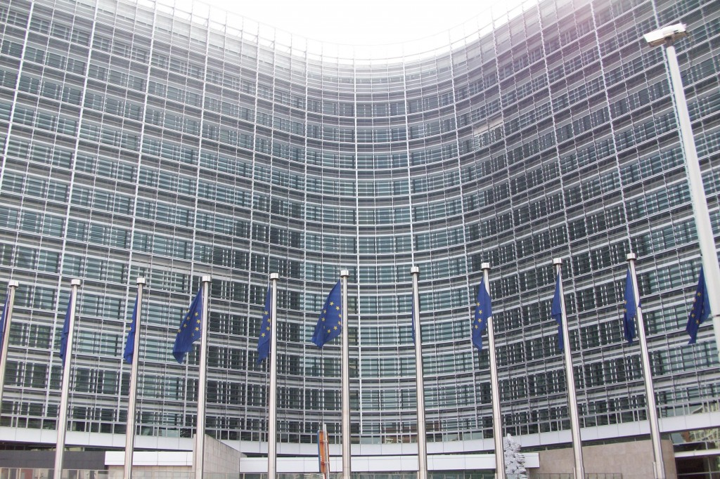 EU building, Brussels. (Photo by Flickr user David Kenny, Jan. 9, 2008) Used under Creative Commons license, https://creativecommons.org/licenses/by-nc-nd/2.0/.