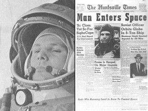 Yuri Gagarin: First Man in Space. NASA, http://www.nasa.gov/mission_pages/shuttle/sts1/gagarin_anniversary.html