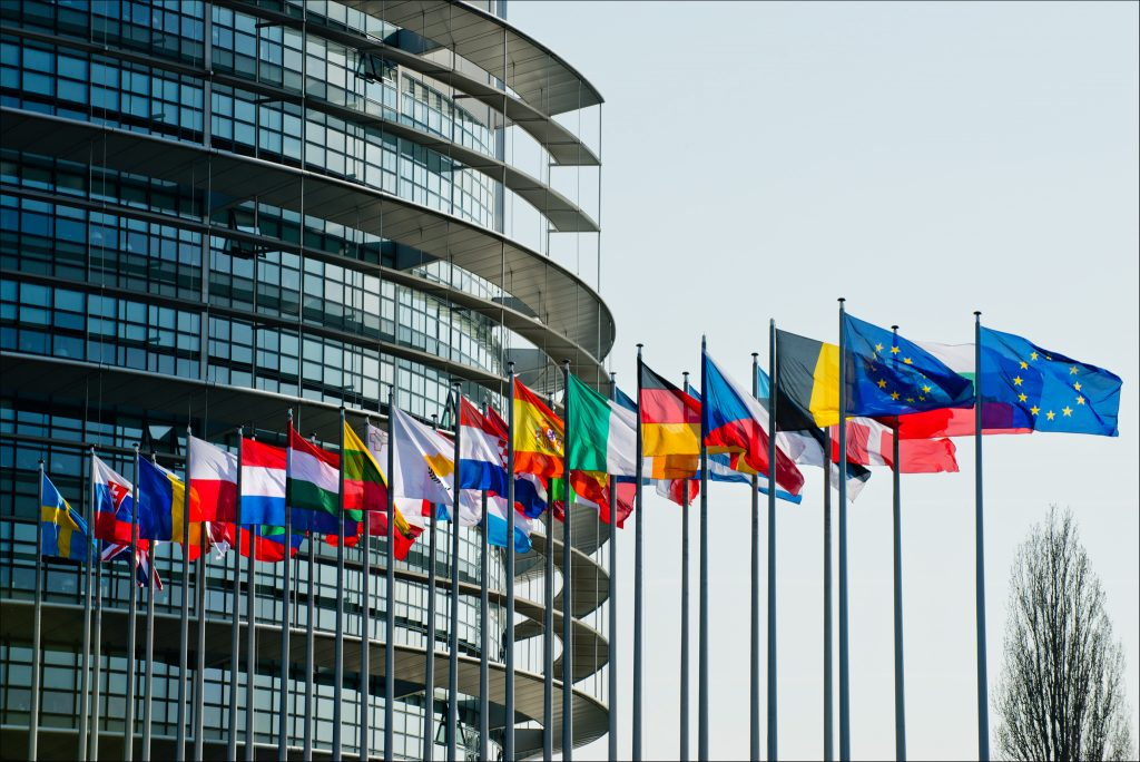 European Parliament. March Plenary Session is on. / Photograph by European Union 2014 - European Parliament. Used under Creative Commons License, https://creativecommons.org/licenses/by-nc/2.0/