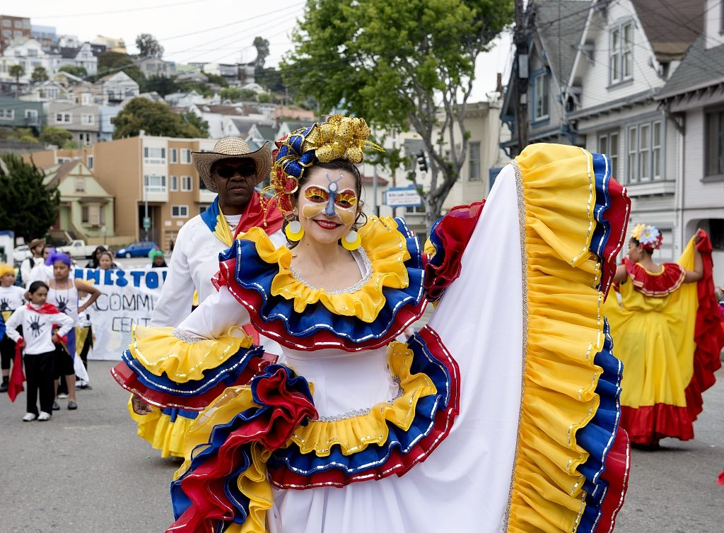 Carnaval, San Francisco, California [photo by Carol M. Highsmith, Prints & Photographs Division, Library of Congress, //hdl.loc.gov/loc.pnp/highsm.20611]
