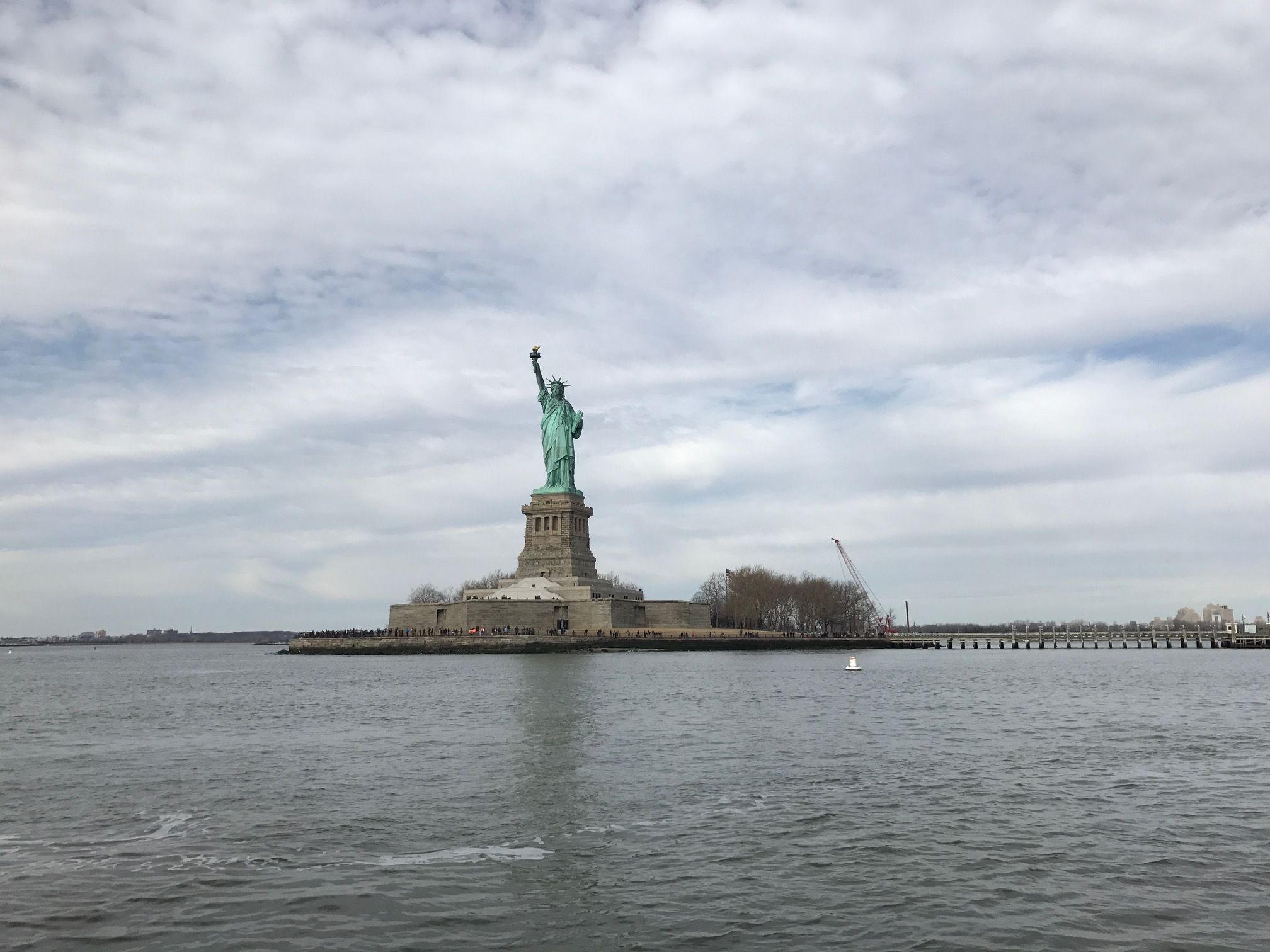Statute of Liberty, Liberty Island / Photograph by Andrew Weber