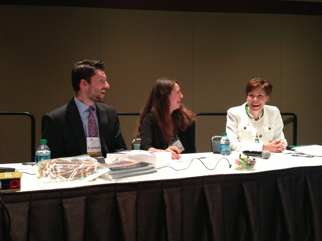 Law Library of Congress staff members presenting at the American Association of Law Libraries Conference in Seattle.