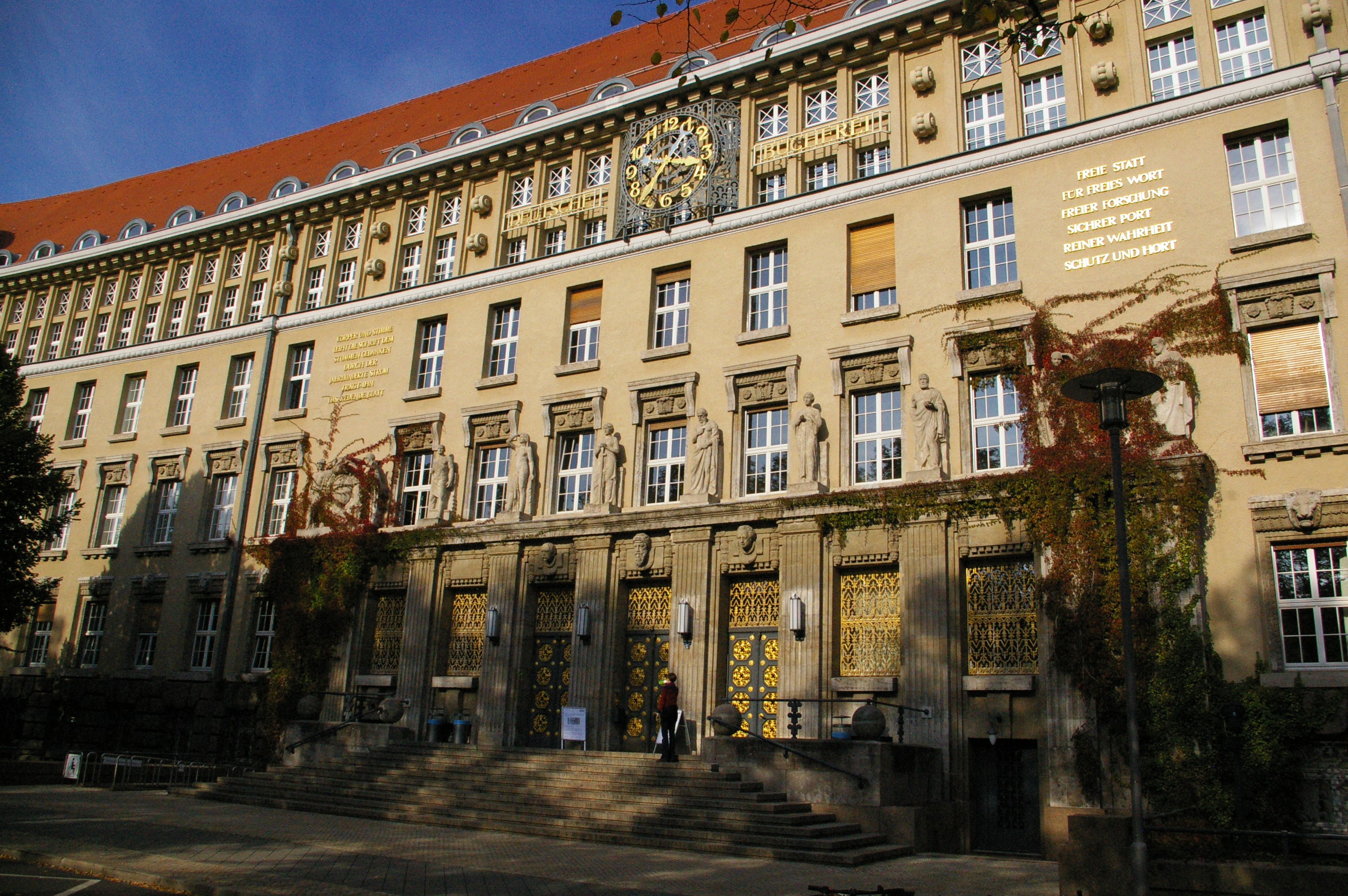 The German National Library Leipzig Pic Of The Week In Custodia Legis Law Librarians Of Congress